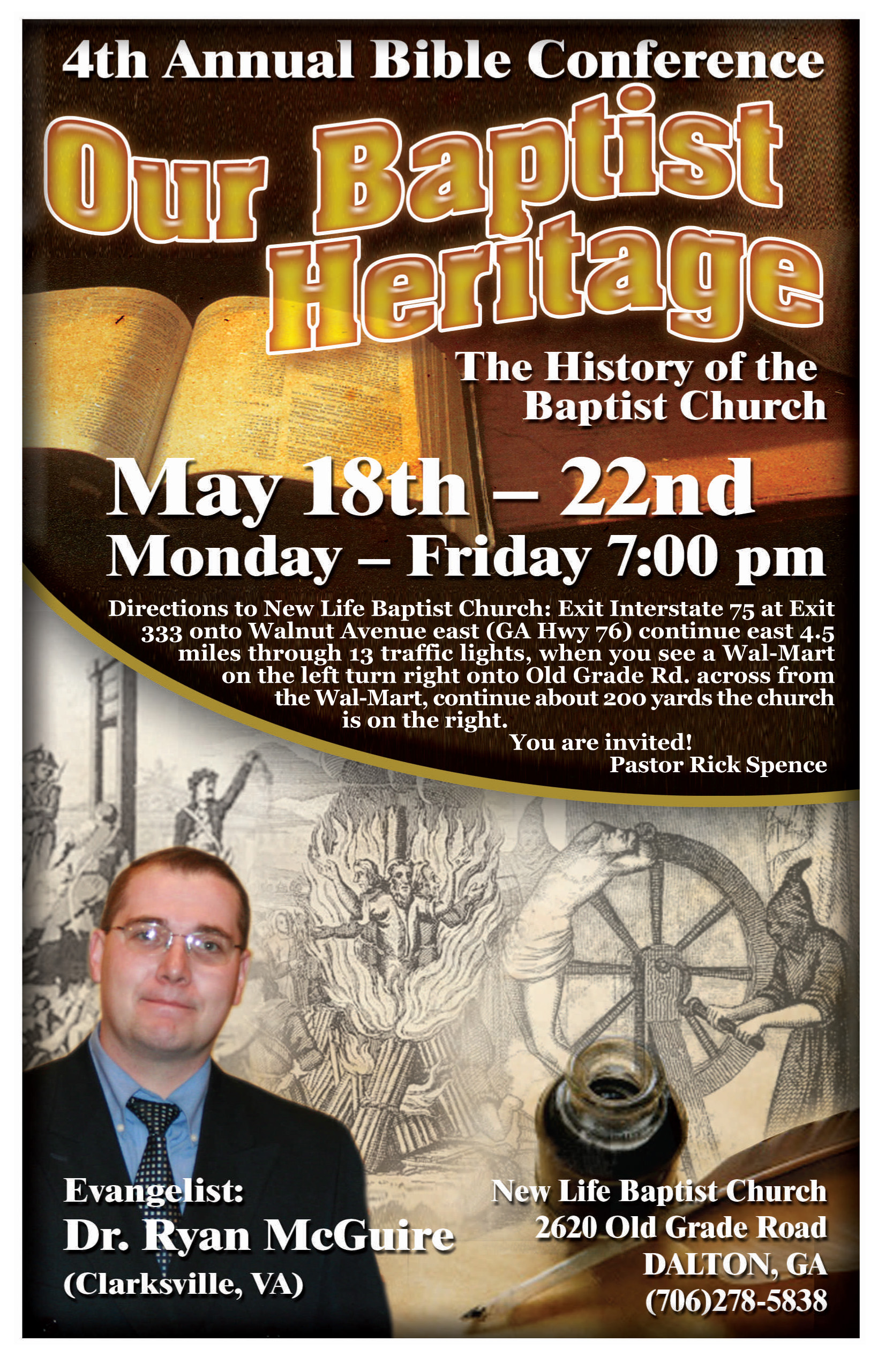 Baptist History Conference