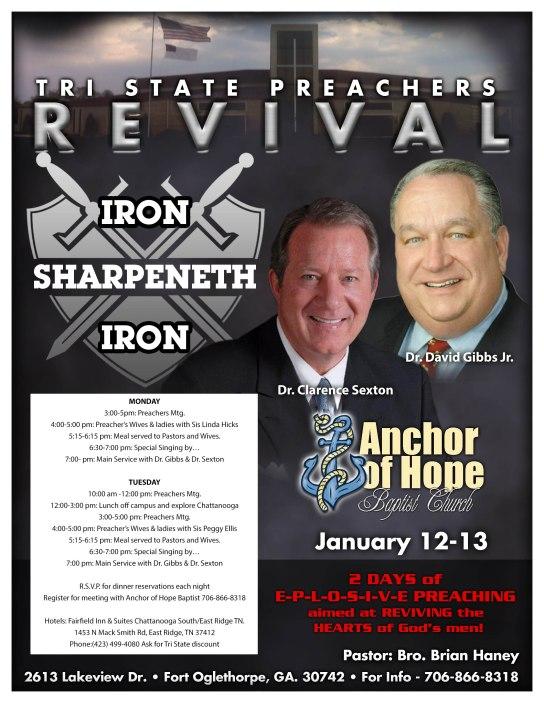 Iron Sharpeneth Iron Poster Sexton & Gibbs